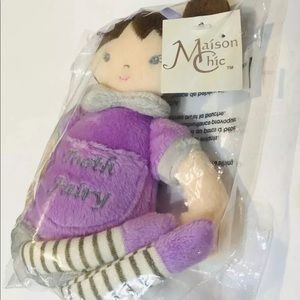 Maison Chic Other - NWT Masion Chic Sophia Tooth Fairy Plush Pillow